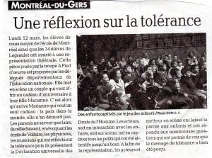Article Laïcité à Montréal